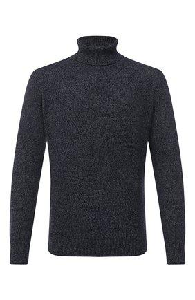Мужской кашемировый свитер CORTIGIANI темно-синего цвета, арт. 919130/0300 | Фото 1