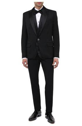 Мужской кожаные дерби W.GIBBS черного цвета, арт. 7255026/0250 | Фото 2