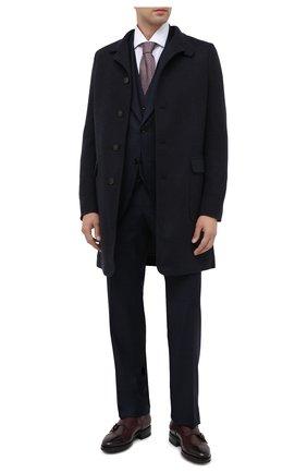 Мужские кожаные монки SANTONI бордового цвета, арт. MCKE14304UL1IGTHQ48 | Фото 2