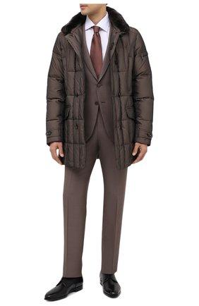 Мужская пуховик morris-км MOORER коричневого цвета, арт. M0RRIS-KM/A20M010SHA1 | Фото 2