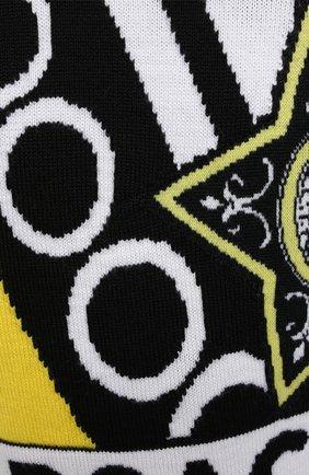 Мужской шерстяной свитер VERSACE разноцветного цвета, арт. A86458/A235937 | Фото 6