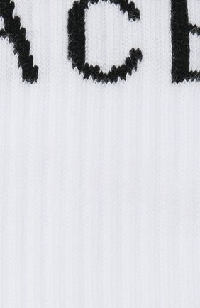 Мужские хлопковые носки VERSACE белого цвета, арт. ICZ0003/A234745 | Фото 2