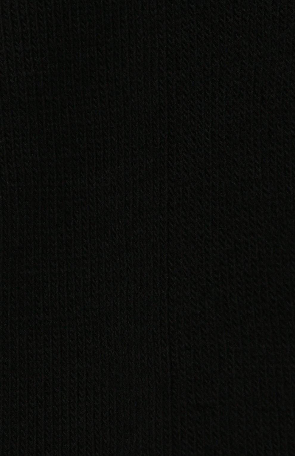 Мужские хлопковые носки VERSACE черного цвета, арт. ICZ0003/A236192 | Фото 2