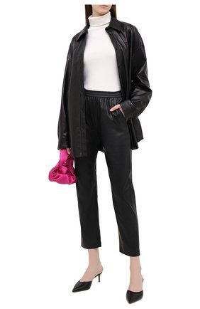 Женские брюки BOSS черного цвета, арт. 50436334 | Фото 2