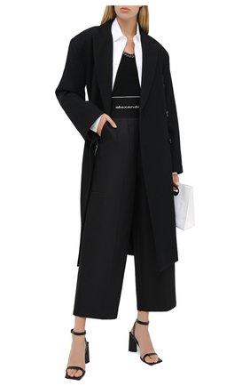 Женская топ ALEXANDER WANG черного цвета, арт. 1KC2201011 | Фото 2
