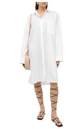 Женское платье TOTÊME белого цвета, арт. PINA 203-601-720 | Фото 2