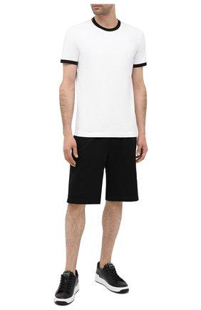 Мужские хлопковая футболка DOLCE & GABBANA белого цвета, арт. M8E41J/FUECH   Фото 2