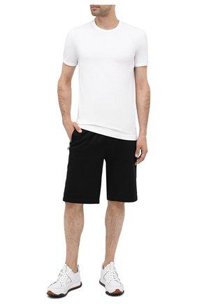 Мужские хлопковая футболка DOLCE & GABBANA белого цвета, арт. M8E26J/FUGHH   Фото 2