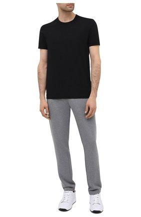 Мужские хлопковая футболка DOLCE & GABBANA черного цвета, арт. M8E21J/FUEB0   Фото 2