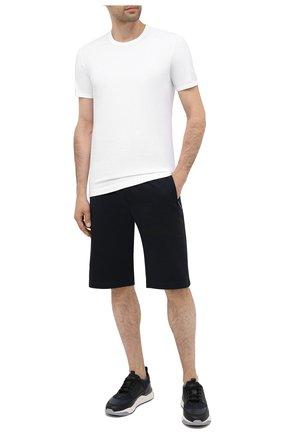 Мужские хлопковая футболка DOLCE & GABBANA белого цвета, арт. M8E21J/FUEB0   Фото 2