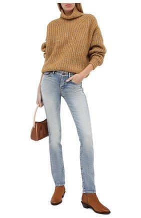 Женские кожаные ботинки western SEE BY CHLOÉ коричневого цвета, арт. SB35041A/12082 | Фото 2