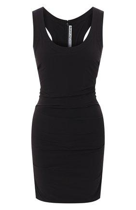 Женское платье ALEXANDER WANG черного цвета, арт. 1WC2206332 | Фото 1