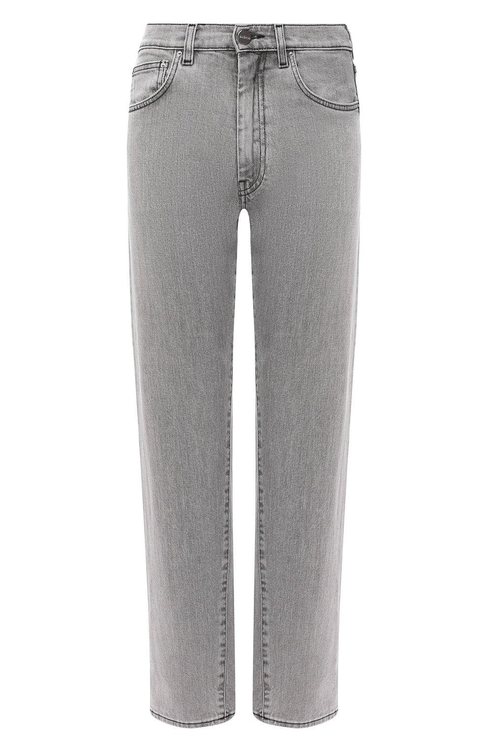 Женские джинсы TOTÊME светло-серого цвета, арт. 0RIGINAL DENIM 32 203-232-743   Фото 1