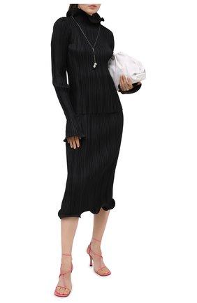 Женская юбка TOTÊME черного цвета, арт. ALBERATA 203-303-709 | Фото 2
