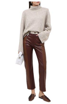 Женский шерстяной свитер TOTÊME светло-серого цвета, арт. RAVENNA 203-584-764 | Фото 2