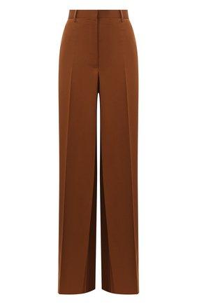 Женские шерстяные брюки LANVIN коричневого цвета, арт. RW-TR510U-4576-A20 | Фото 1