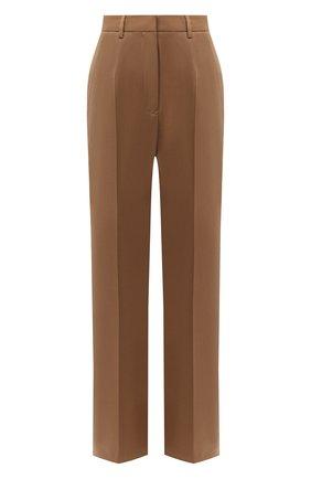 Женские брюки MM6 коричневого цвета, арт. S32KA0634/S47848 | Фото 1