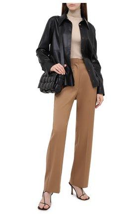Женские брюки MM6 коричневого цвета, арт. S32KA0634/S47848 | Фото 2