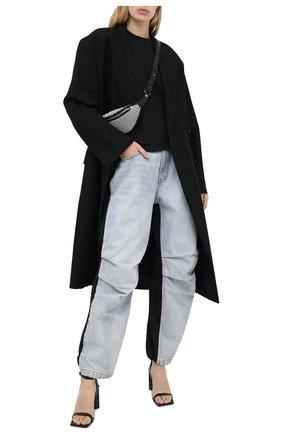 Женские джинсы DENIM X ALEXANDER WANG голубого цвета, арт. 4DC2194485   Фото 2