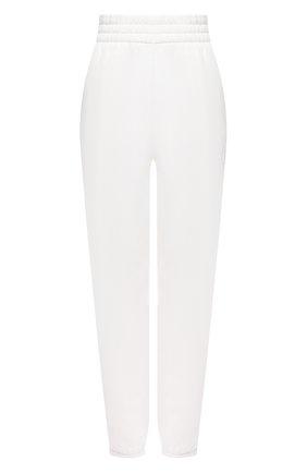 Женские хлопковые джоггеры ALEXANDERWANG.T белого цвета, арт. 4CC1204061 | Фото 1