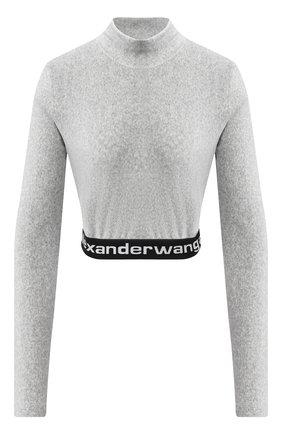 Женский пуловер ALEXANDERWANG.T серого цвета, арт. 4CC2201130 | Фото 1