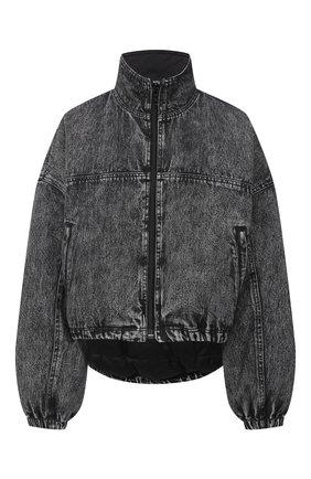 Женская джинсовая куртка DENIM X ALEXANDER WANG серого цвета, арт. 4DC2202731   Фото 1