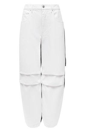Женские джинсы DENIM X ALEXANDER WANG белого цвета, арт. 4DC2204791   Фото 1