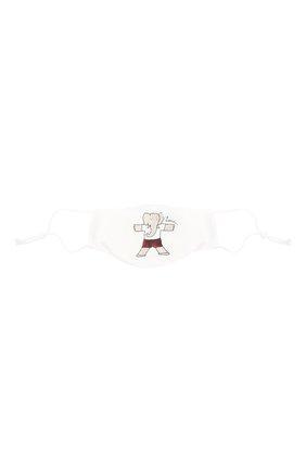 Детского набор из пяти масок для лица LANVIN белого цвета, арт. AW-SI0M00-BGYM-P21 | Фото 3