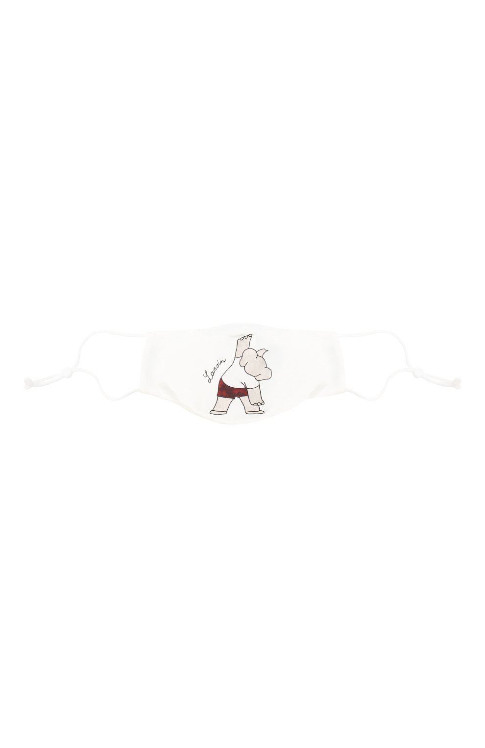 Детского набор из пяти масок для лица LANVIN белого цвета, арт. AW-SI0M00-BGYM-P21 | Фото 7
