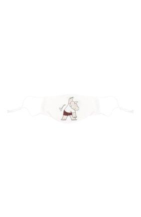 Детского набор из пяти масок для лица LANVIN белого цвета, арт. AW-SI0M00-BGYM-P21 | Фото 8