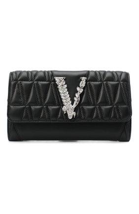 Женская сумка virtus VERSACE черного цвета, арт. DBSG377V/DNATR5S | Фото 1