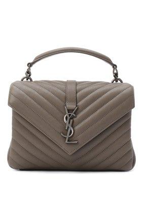 Женская сумка monogram college medium SAINT LAURENT серого цвета, арт. 600279/BRM04 | Фото 1