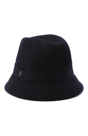 Женская кашемировая шляпа LORO PIANA синего цвета, арт. FAL2348 | Фото 1 (Материал: Кашемир, Шерсть)