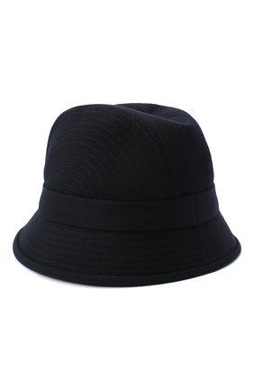 Женская кашемировая шляпа LORO PIANA синего цвета, арт. FAL2348 | Фото 2 (Материал: Кашемир, Шерсть)