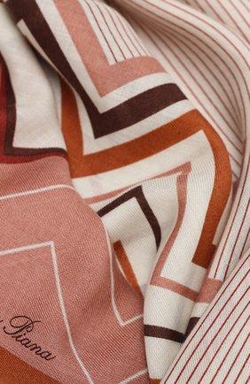 Женская шаль из кашемира и шелка LORO PIANA красного цвета, арт. FAL3514 | Фото 2