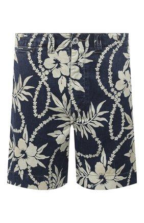 Мужские джинсовые шорты RRL разноцветного цвета, арт. 782784928 | Фото 1