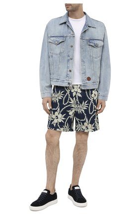 Мужские джинсовые шорты RRL разноцветного цвета, арт. 782784928 | Фото 2