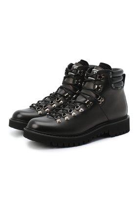 Мужские кожаные ботинки valentino garavani VALENTINO черного цвета, арт. UY2S0D70/AKJ | Фото 1