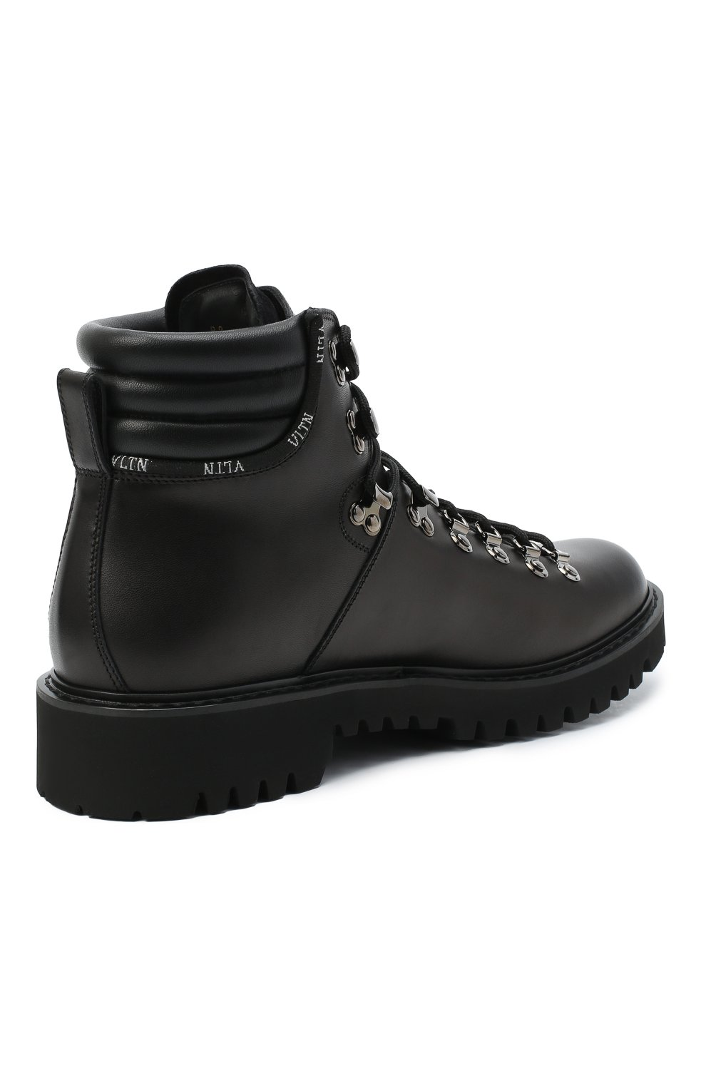 Мужские кожаные ботинки valentino garavani VALENTINO черного цвета, арт. UY2S0D70/AKJ | Фото 4