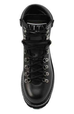Мужские кожаные ботинки valentino garavani VALENTINO черного цвета, арт. UY2S0D70/AKJ | Фото 5