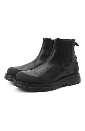 Мужские кожаные челси MOMA черного цвета, арт. 2CW132-CU | Фото 1