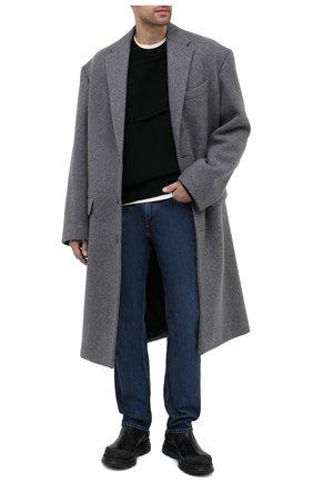 Мужские кожаные челси MOMA черного цвета, арт. 2CW132-CU | Фото 2