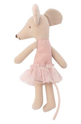 Детского игрушка мышка-балерина старшая сестра MAILEG бежевого цвета, арт. 16-6787-00   Фото 2