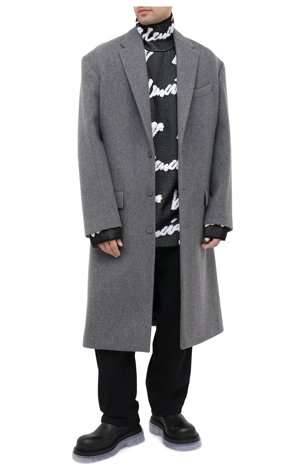 Мужские кожаные челси BOTTEGA VENETA черного цвета, арт. 630284/VBS50   Фото 2