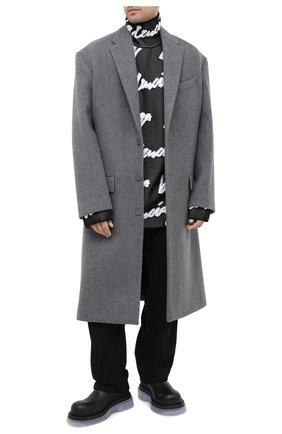 Мужские кожаные челси BOTTEGA VENETA черного цвета, арт. 630284/VBS50 | Фото 2