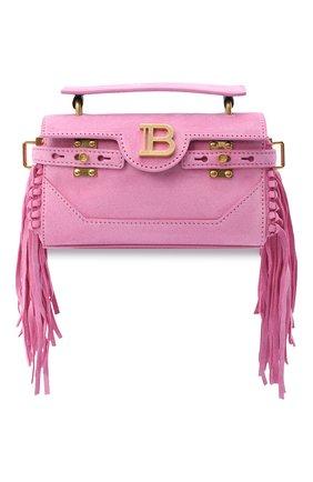 Женская сумка BALMAIN розового цвета, арт. UN1S533/LCRF | Фото 1