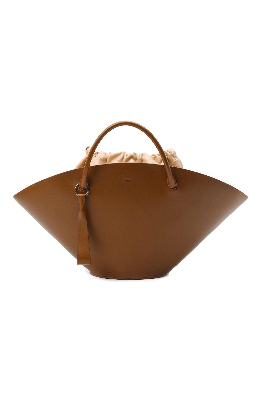 Женский сумка-шопер sombrero medium JIL SANDER коричневого цвета, арт. JSPR851309-WRB69139V | Фото 1
