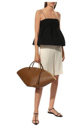 Женский сумка-шопер sombrero medium JIL SANDER коричневого цвета, арт. JSPR851309-WRB69139V | Фото 3