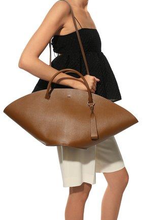 Женский сумка-шопер sombrero medium JIL SANDER коричневого цвета, арт. JSPR851309-WRB69139V | Фото 6