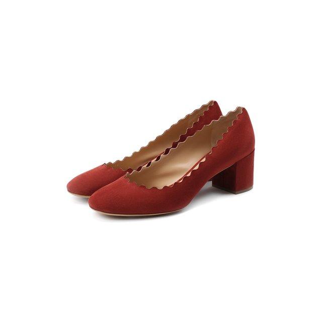 Замшевые туфли Lauren Chloé